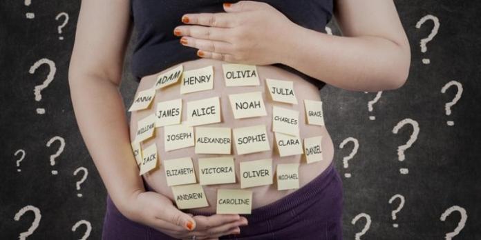 como escolher o nome do bebê